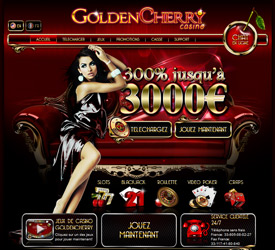 Le casino Golden Cherry et ses jeux de blackjack